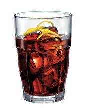 NEW Bormioli Rocco Rock Bar Hi Ball Glasses 370ml Set of 6