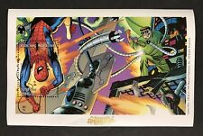 MADAGASCAR SPIDERMAN SOUVENIR SHEET 1998 MNH MARVEL COMICS SUPERHERO COMIC BOOK