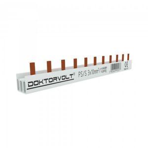 3P Phase Track Pen 12-polig 10mm ² Ps / S Comb Rail Bus BAR 63A Dv 2077