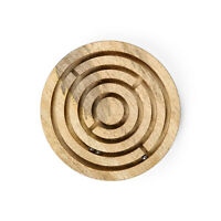 Penguin Home Ball in a Maze Puzzle , Wooden, Brown
