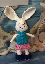 Amigurumi Toy Handmade Gift Crochet Stuffed Bunny 100% Cotton Slavic Sun Brand