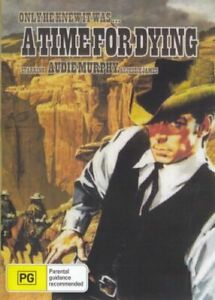 A Time for Dying DVD Audie Murphy New and Sealed Australia