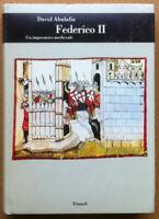 Abulafia - Federico II. Un imperatore medievale - Einaudi 1990 - 1^ edizione
