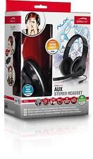 Speedlink Aux Stereo Headset - Black/Silver