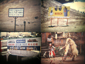 Super 8mm Home Movies Hong Kong Singapore Bali Peru Skeletons in The Sand Graves