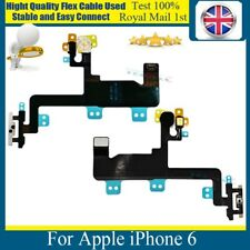 "For iPhone 6 4.7"" On Off Power Button Flex with LED Flash Light Metal Bracket"