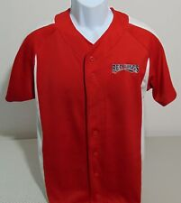 MiLB Rochester Red Wings Champion Red & White Jersey Mens Small