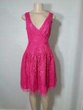 BCBG Max Azria Katarina Azalea Lace Sequin Dress Sz 4 S Small NWT $348