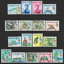 Dominica 1963-65 Set to $4.80 (Fine Used)