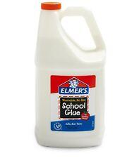 Elmers Liquid School Glue Bottle White - 1 Gallon/3.78L | Great For Making Slime