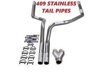 "09-18 Dodge Ram 1500 Stainless Steel 2.5"" Dual Exhaust Kit Y Pipe"
