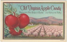 1930s Old Virginia Apple Candy Advertising Card
