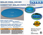 Solar Cover for 18ft Diameter Easy Set and Frame Pools, 18 ft, Blue