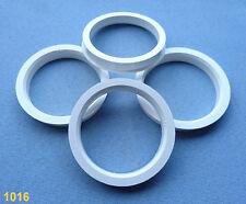 (1016) 4 Stück  Zentrierringe  67,1 / 56,6 mm weiß für Alufelgen