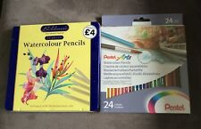 PENTEL ARTS WATERCOLOUR PENCILS,BOLDMERE WATERCOLOUR PENCILS