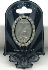 DISNEY HOLLYWOOD STUDIOS 25th ANNIVERSARY MICKEY MOUSE JEWEL SPINNER PIN LE 2500