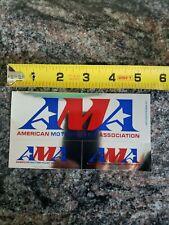Ama American Motorcyclist Association Decal Sticker