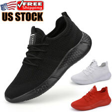 Men's Sports Sneakers Athletic Jogging Walking Running Shoes Tennis Trainers Gym