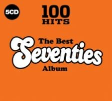100 Hits The best of 70's 70s Seventies 5 Disc Various Artists New CD Box Set