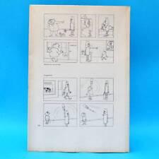 Original DDR-Comic-Druckbogen   Erich Schmitt   Das dicke Schmitt-Buch 7