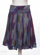 Per Una Cotton Knee Length Flippy, Full Skirts for Women