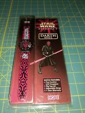 Star Wars Episode 1 | Darth Maul| Vintage 1999 Rubber Jedi Watch | Hope