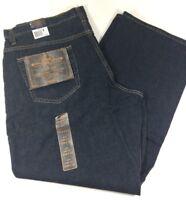 ROUTE 66 Boot Cut Ringspun Cotton Stonewashed Blue Denim Jeans Men's 42x32 NWT