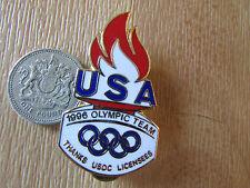 ATLANTA  Olympic Team USA  1996 Thanks UCOS Licensees  Original Metal  PIN Badge