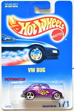 HOT WHEELS 1991 BLUE CARD VW BUG #171 PURPLE 20