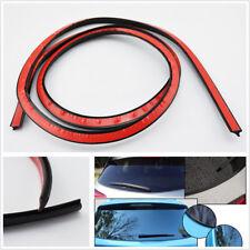4M V Type Black Car SUV Rear Window Glass Trim Fillers Sealed Strip Weatherstrip