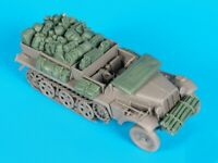 1/35 Resin Stowage for WWII German Sdkfz.10 Half-track Unpainted QJ093