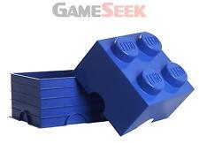 LEGO STORAGE BRICK 4 BLUE - TOYS BRAND NEW FREE DELIVERY