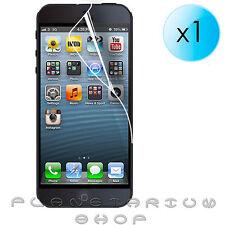 1x LAMINAS PROTECTOR LCD DE PANTALLA ULTRA CRYSTAL CLEAR PARA IPHONE 5 5S APPLE