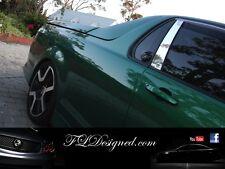 Holden ve/vf Ute/ maloo Chrome door pillar covers by FLD ss, ssv, sv6, Maloo