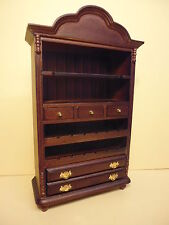 Dolls House Quality furniture  1/12 scale   Dresser with Wine Rack   99518M