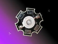 1W High Power Led auf Starplatine UV -A / Schwarzlicht 410nm - 420nm 1 Watt