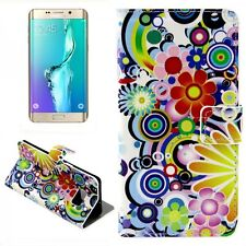 CARTERA DE LUJO motivo bolsa 1 para Samsung Galaxy S6 EDGE PLUS G928 F Funda