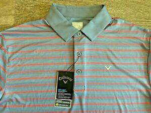 Callaway Golf Opti -Dri Performance Polo Shirt Medium M ~ Nice!
