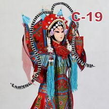 C-19 China Peking Oper chinesisch Puppe Figur Seide 31 cm Neu Geschenkidee OVP