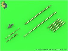 Master 72104 1/72 Metal Sukhoi Su-11 Fishpot Pitot Tubes and missile rail heads
