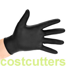 Black Disposable Nitrile Gloves (Extra Large) - Carton of 1000