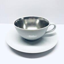 Vintage Dorothy Thorpe Mid Century Cup Saucer California Ceramic
