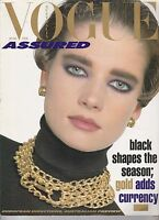 FEB 1986  VOGUE fashion magazine (AUSTRALIAN - FOREIGN )