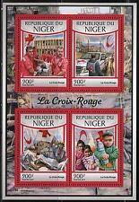 NIGER 2017  THE RED CROSS SHEET MINT NH