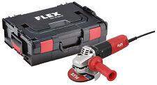 Flex Winkelschleifer LE 9-11 125 mit einstellbarer Drehzahl im Koffer / L-BOXX