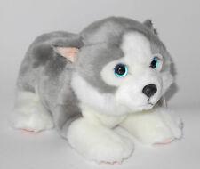 Neuware wunderschöner Hund Baby Welpe Husky 22cm lang