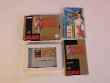 The Legend Of Zelda A Link To The Past Jeu Console Super Nintendo SNES en Boite