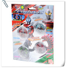 Ultraman R/B DX Crystal Set 01 Seven Geed Black King Grigio Bone BANDAI