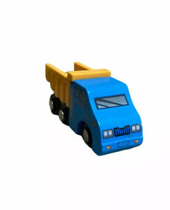 Battat Wooden Blue Dump Truck Brio Thomas Chugging Train Track Rail loose 2018