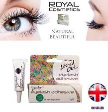 Royal Pestañas Pestañas Postizas Ojos Pestañas fuera Pegamento Adhesivo, Blanco Seca transparente, 7g